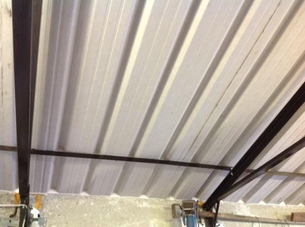 Mouldy Garage Roof - After