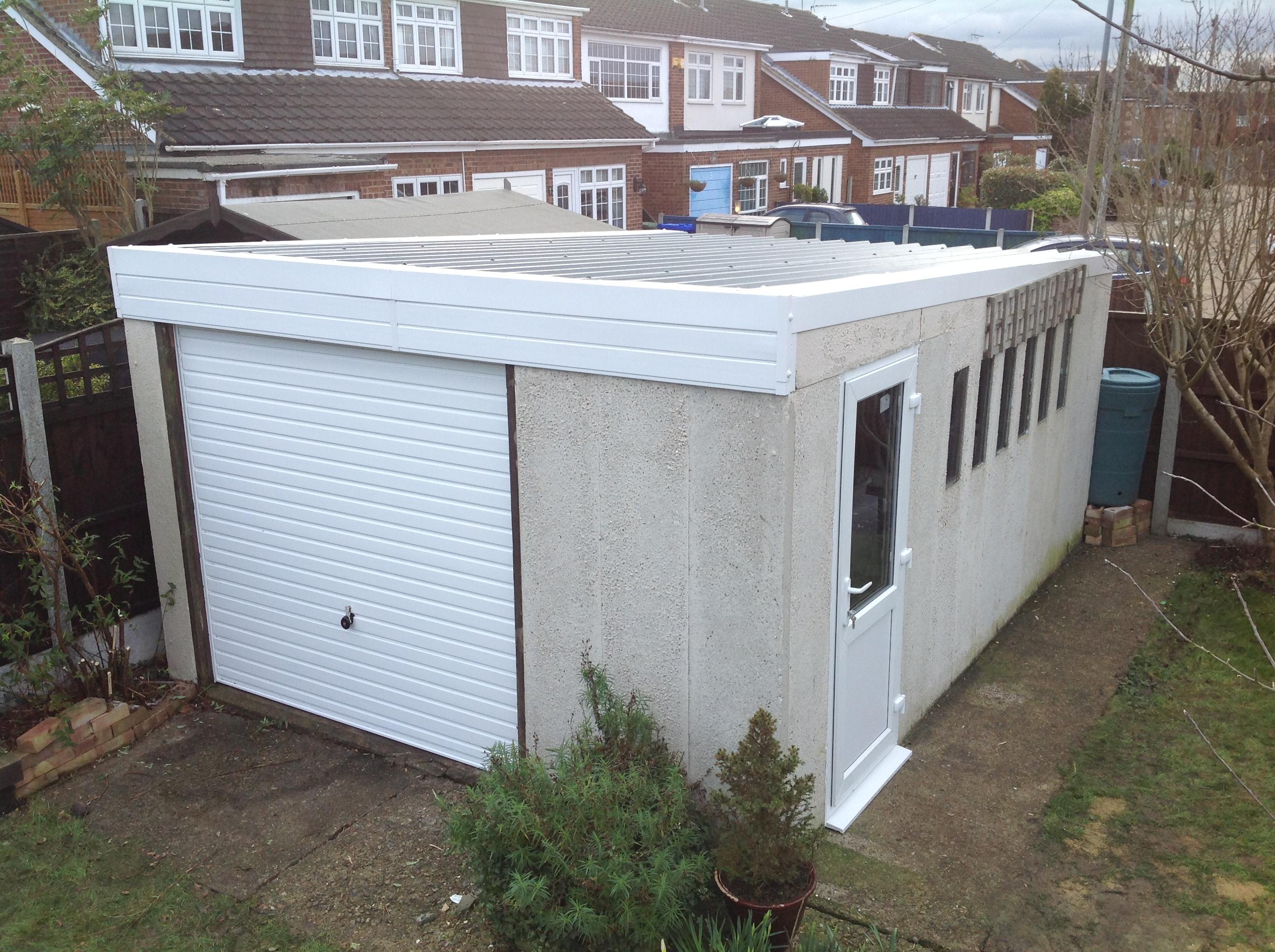 14 Pent Style Garage Essex Garageroofs Co Uk