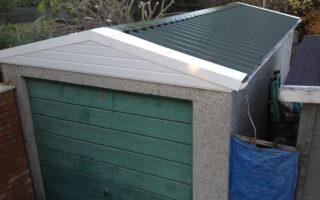 15 – Marley Garage (sagging and leaking roof), Hounslow